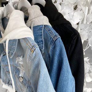 ekattire Jackets & Coats - QUINN— in Black